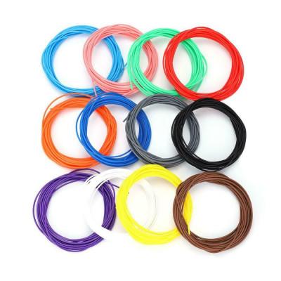L3DT sada filamentů PCL pro nízkoteplotní 3D pera, 12 barev, 5m, mix