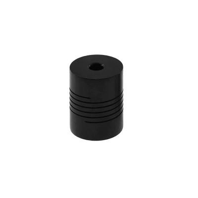 Spojka 5/8 mm, pružná, černá