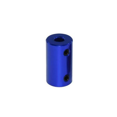 Spojka 5/8 mm, pevná, modrá