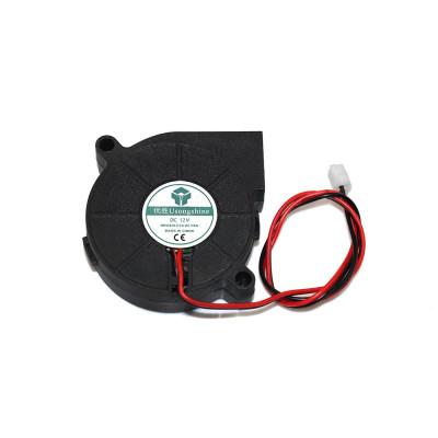 Ventilátor 5015, radiálny, 12V, 2 piny, FAN5015122