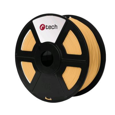 C-TECH, Tisková struna (filament), PLA, 1,75mm, 1kg, skin...