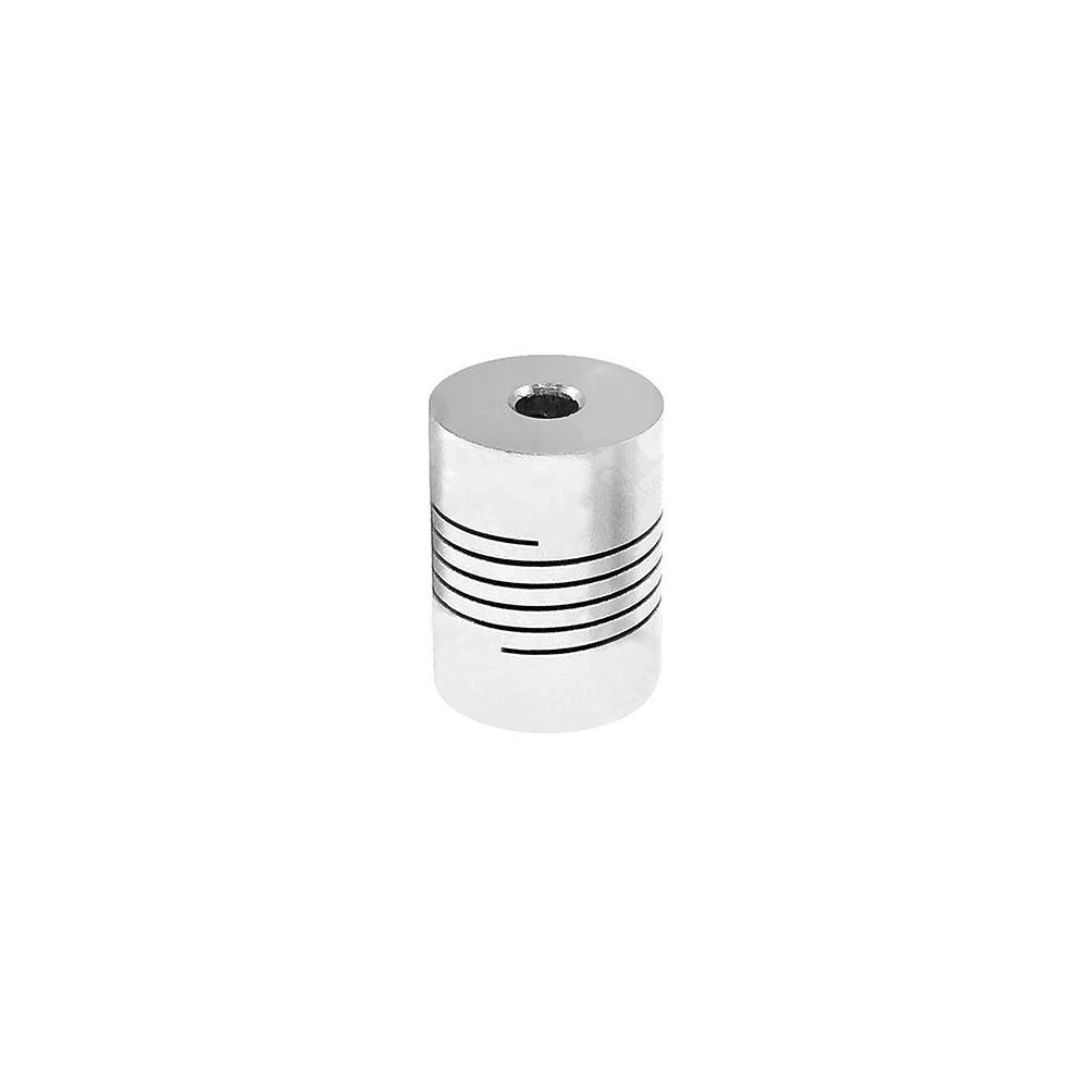 Spojka 5/8 mm, pružná, stříbrná