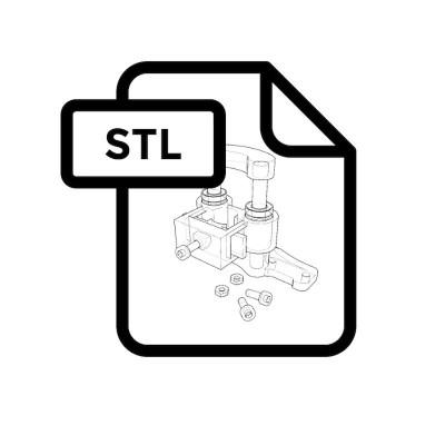 L3DT 3D modely pro kreslící nástavec pro Axx, PENKITAM