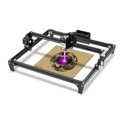 L3DT Laserová gravírka/rezačka, 30x40 cm, 2,5W, čierna, stavebnica, GRAVI30402500