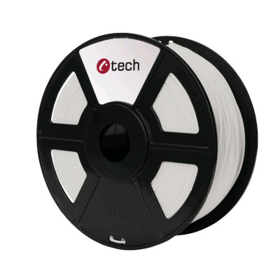 C-TECH, Tisková struna (filament), ASA, 1,75mm, 1kg, natural, 3DF-ASA1.75-NT