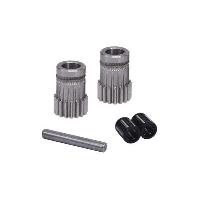 Podávací kolečka dual drive, ocelové, klon BondTech, FWDDBTECH