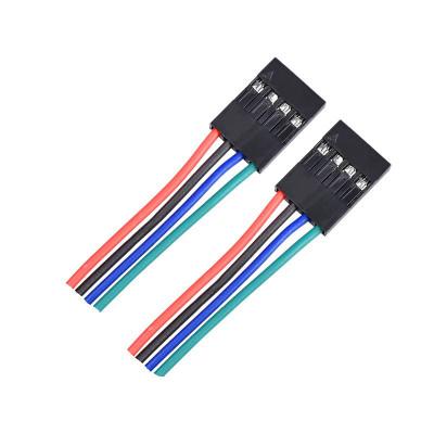 Prepojovací kábel F-F 4 piny 70 cm, F4F70