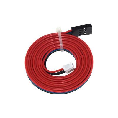 Prepojovací kábel krokového motora DUPONT 4 / XH2.54 6 pinů, 1m, XH2544D61M