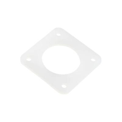 Tlumič krokového motoru NEMA17, silikonový, bílý, DSN17W