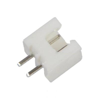 Konektor male JST-XH-2 2.54 mm do DPS, 2 piny, JSTXH2PCB