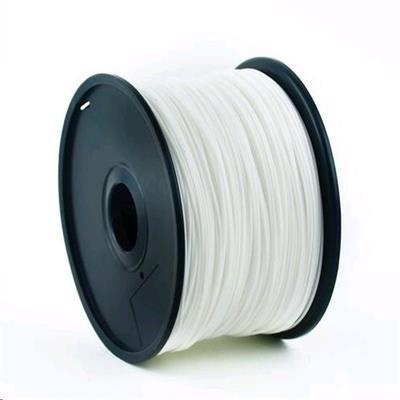 Tisková struna (filament) GEMBIRD, ABS, 1,75mm, 1kg, bílá
