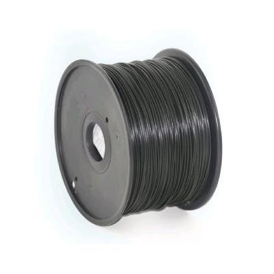 Tisková struna (filament) GEMBIRD, ABS, 1,75mm, 1kg, černá