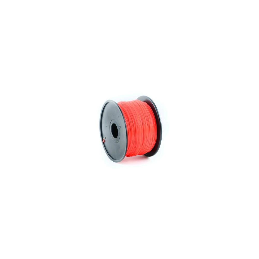 Tisková struna (filament) GEMBIRD, ABS, 1,75mm, 1kg, červená
