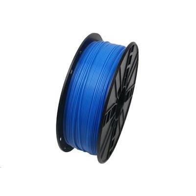 Tisková struna (filament) GEMBIRD, ABS, 1,75mm, 1kg, fluorescentní, modrá