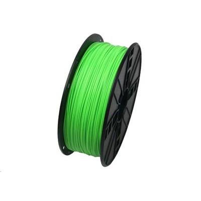 Tisková struna (filament) GEMBIRD, ABS, 1,75mm, 1kg, fluorescentní, zelená