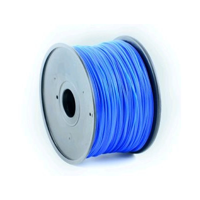 Tisková struna (filament) GEMBIRD, ABS, 1,75mm, 1kg, modrá