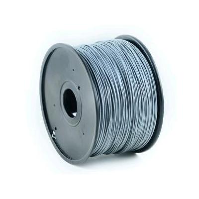 Tisková struna (filament) GEMBIRD, ABS, 1,75mm, 1kg, stříbrná