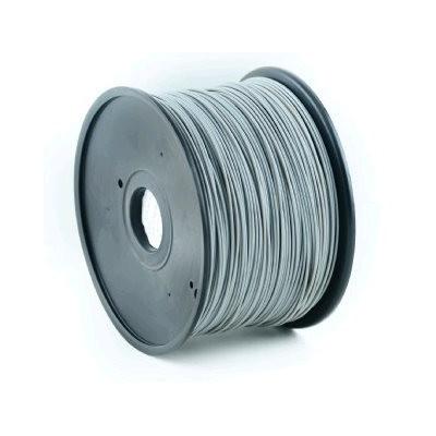 Tisková struna (filament) GEMBIRD, ABS, 1,75mm, 1kg, šedá