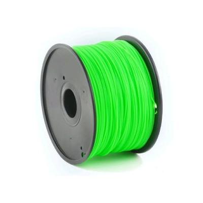 Tisková struna (filament) GEMBIRD, ABS, 1,75mm, 1kg, zelená