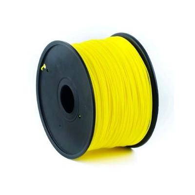 Tisková struna (filament) GEMBIRD, ABS, 1,75mm, 1kg, žlutá
