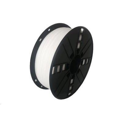 Tisková struna (filament) GEMBIRD, flexibilní, 1,75mm, 1kg, bílá