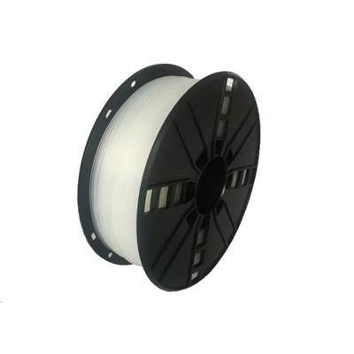 Tisková struna (filament) GEMBIRD, flexibilní, 1,75mm, 1kg, natural