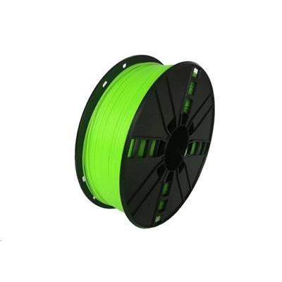 Tisková struna (filament) GEMBIRD, flexibilní, 1,75mm, 1kg, zelená