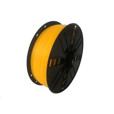 Tisková struna (filament) GEMBIRD, flexibilní, 1,75mm, 1kg, žlutá