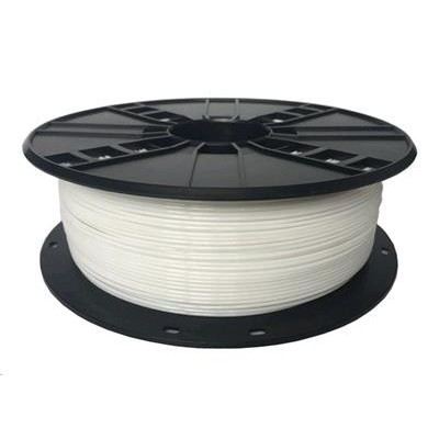 Tisková struna (filament) GEMBIRD, PETG, 1,75mm, 1kg, bílá