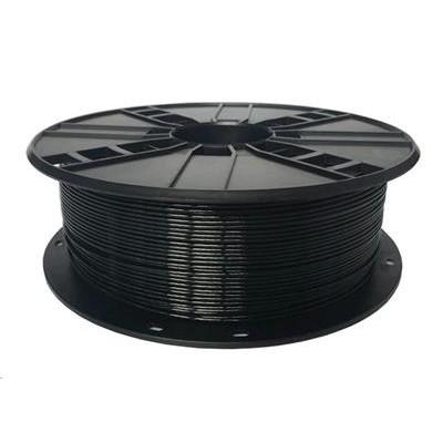 Tisková struna (filament) GEMBIRD, PETG, 1,75mm, 1kg, černá