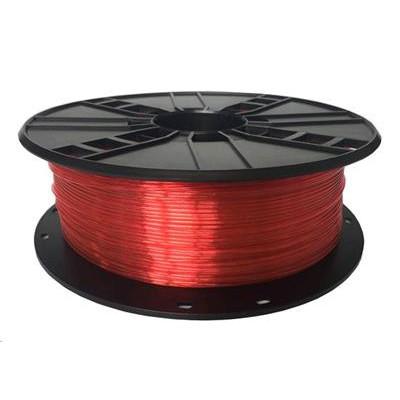 Tisková struna (filament) GEMBIRD, PETG, 1,75mm, 1kg, červená