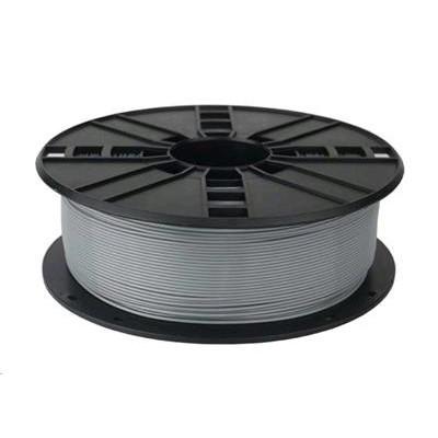 Tisková struna (filament) GEMBIRD, PETG, 1,75mm, 1kg, šedá