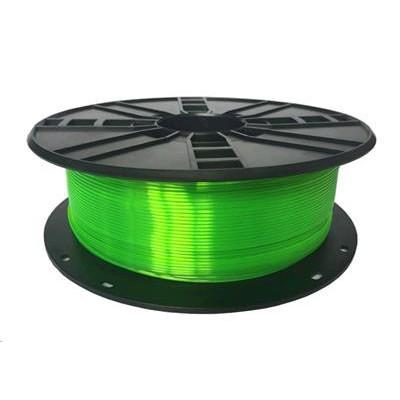 Tisková struna (filament) GEMBIRD, PETG, 1,75mm, 1kg, zelená