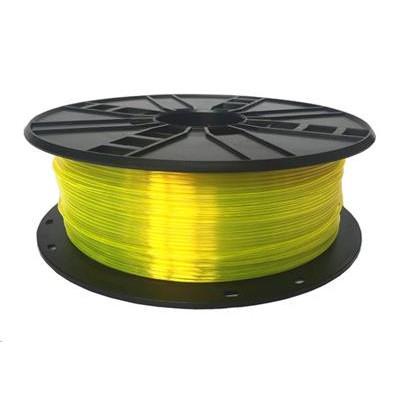 Tisková struna (filament) GEMBIRD, PETG, 1,75mm, 1kg, žlutá