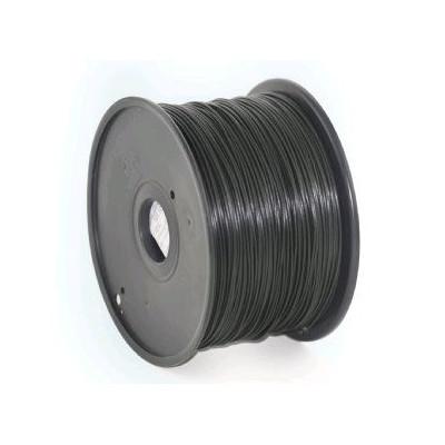 Tisková struna (filament) GEMBIRD, PLA, 1,75mm, 1kg, černá