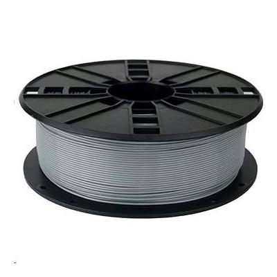 Tisková struna (filament) GEMBIRD, PLA, 1,75mm, 1kg, stříbrná