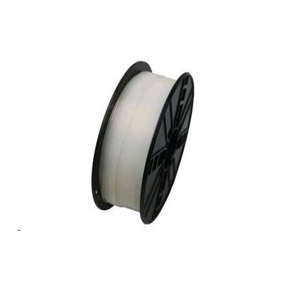 Tisková struna (filament) GEMBIRD, PLA, 1,75mm, 1kg, transparentní