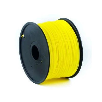 Tisková struna (filament) GEMBIRD, PLA, 1,75mm, 1kg, žlutá