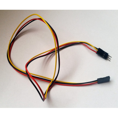Propojovací kabel M-F 3 piny 50 cm