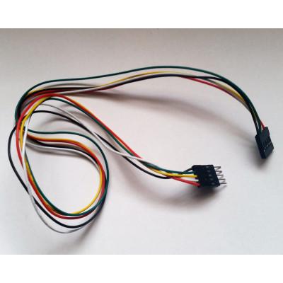 Propojovací kabel M-F 5 pinů 50 cm