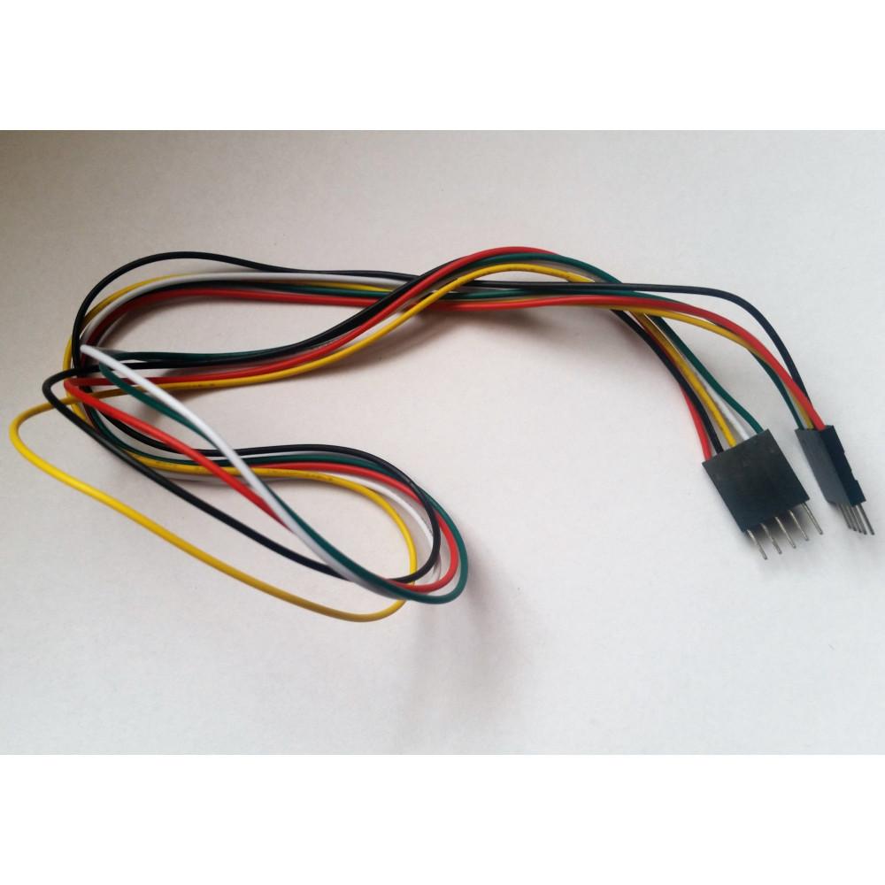Propojovací kabel M-M 5 pinů 70 cm