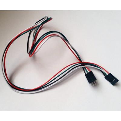 Propojovací kabel M-F 4 piny 50 cm
