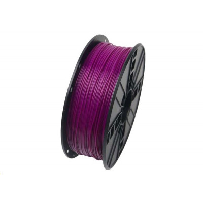 Gembird Tisková struna (filament), PLA, 1,75mm, 1kg, fialová, 3DP-PLA1.75-01-PR