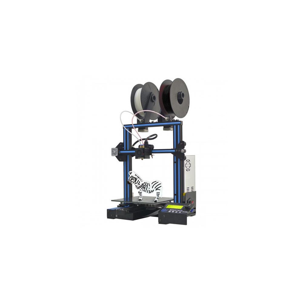 Geeetech A10M, dual mix, černý hliníkový rám, stavebnice + 2kg PLA zdarma