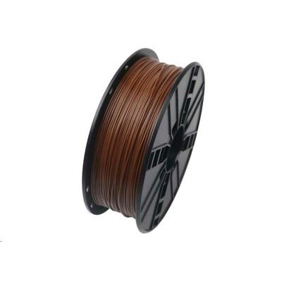 Gembird Tisková struna (filament), PLA, 1,75mm, 1kg, hnědá, 3DP-PLA1.75-01-BR
