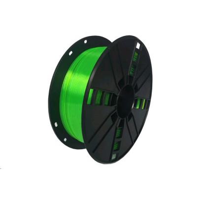 Gembird Tisková struna (filament), PLA PLUS, 1,75mm, 1kg, zelená, 3DP-PLA+1.75-02-G