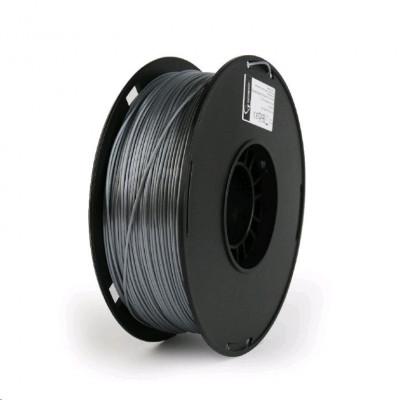 Gembird Tisková struna (filament), PLA PLUS, 1,75mm, 1kg, stříbrná, 3DP-PLA+1.75-02-S